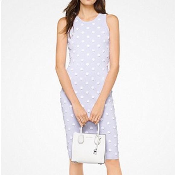 Michael Kors Dresses & Skirts - MK lavender dress with flowers